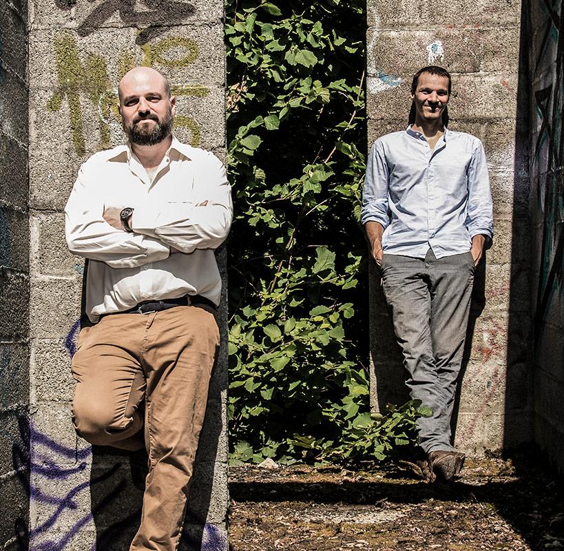 Gda Architectes, l'équipe : Olivier d'Andiran et Henri Gindre